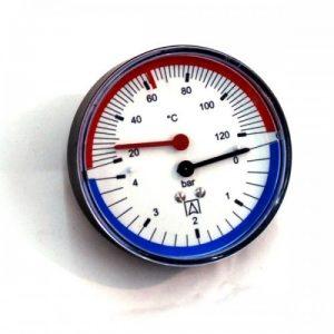 Pokazivač tlaka i temperature Afriso