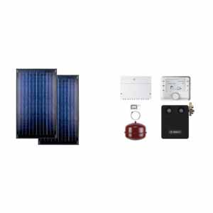 Buderus solarni paket SKN 2R ravni krov