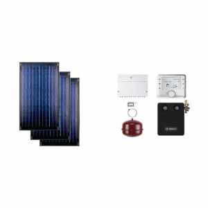 Buderus solarni paket SKN 3R ravni krov