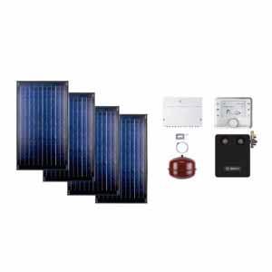 Buderus solarni paket SKN 4R ravni krov