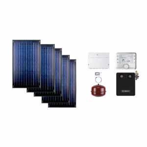 Buderus solarni paket SKN 5R ravni krov