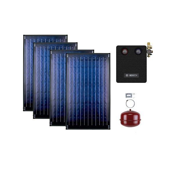 Buderus solarni paket SKN 2K kosi krov light