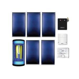Kvalitetni Buderus solarni paket kosi krov SKT PL750