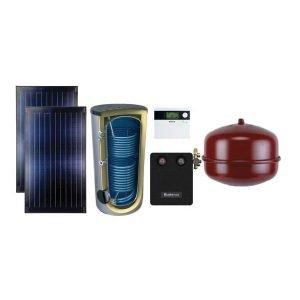 Kvalitetni Buderus solarni paket Topas 2K za kosi krov