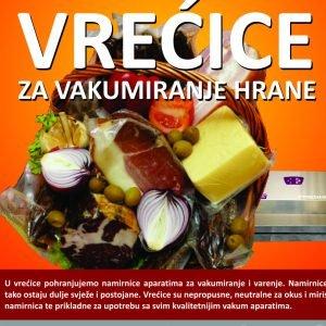 Vrećice i role za vakumiranje hrane
