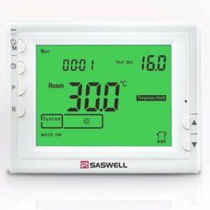 ASWELL TERMOSTAT SAS908XWHB-7 PROGRAMSKI, LCD